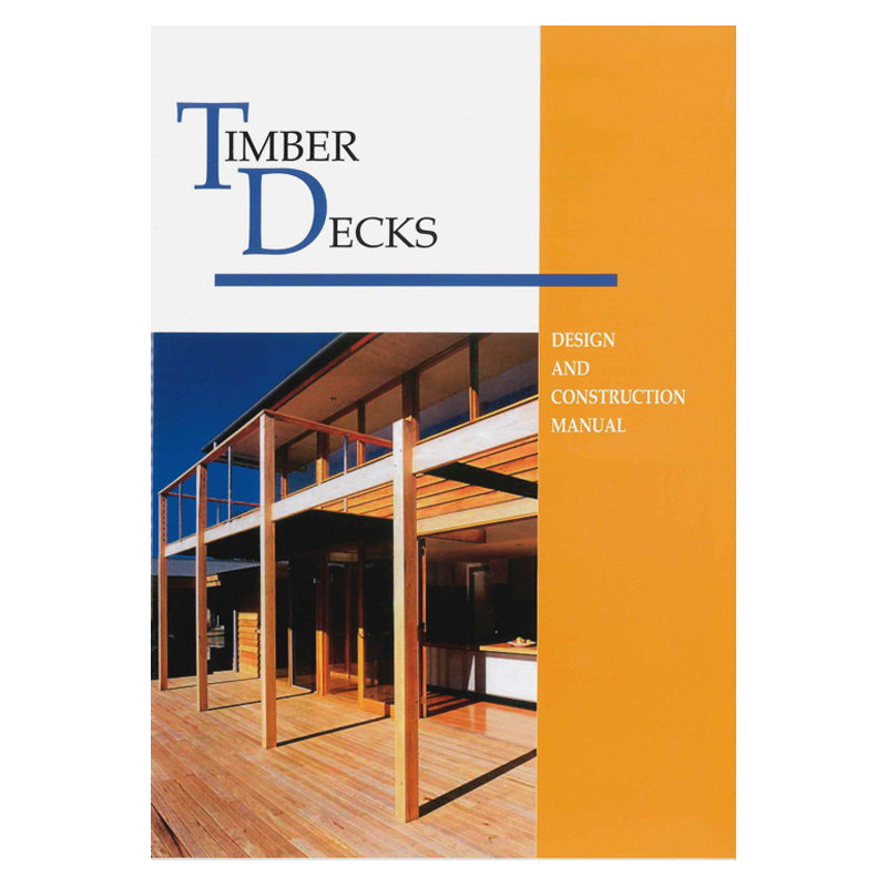 Timber decks design construction manual tradestuff for Timber decking seconds