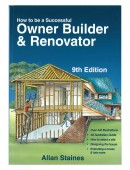 How to be a Successful Owner  Builder & Renovator – 9th Edition
